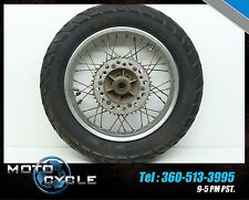 1988 88 88-90 HONDA NX250 NX 250 DOMINATOR REAR WHEEL RIM DID SPROCKET HUB H44