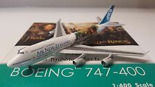 "Phoenix Models 1:400 - Air New Zealand B 747-419 - ""LOTR - Frodo"" - Reg # ZK-NBV"