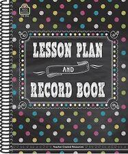 Chalkboard Brights Teacher Plan Book by Teacher Created Resources Staff...