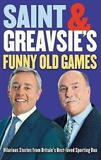 "Saint And Greavsie's Funny Old Games, St John, Ian, Greaves, Jimmy, ""AS NEW"" Boo"