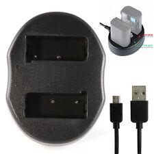 Dual Battery USB Charger For MH-23 EN-EL9 EN-EL9a Nikon D3000 D5000 D60 D40 DSLR