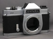 CHINON CS 35mm VINTAGE Film Camera M42 Body CLEAN! JAPAN
