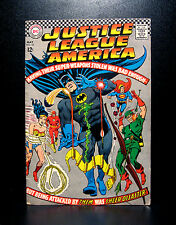 COMICS: DC: Justice League of America #53 (1967) - RARE (flash/batman/superman)