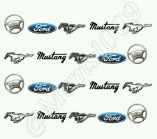 Ford Mustang Nail Decals - Water decals Ford nail Art