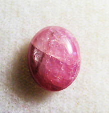 3.76 cts PINK STAR SAPPHIRE GEMSTONE CAB 10 x 8 x 4mm INDIA # 4