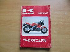Manual De Taller, Manual De Servicio Kawasaki GPZ 400 R 1985-1989