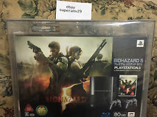 PlayStation 3 Resident Evil 5 Limited Edition 80 GB Console VGA 85+Q ARCHIVAL