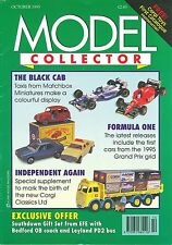 MODEL COLLECTOR magazine 10/95 feat. Mercury planes, Corgi VW vans, Budgie toys