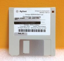HP 08753-10013 HP / Agilent 8753ES EEPROM Backup Correction Constants Disk, New!