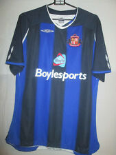 Sunderland 2007-2008 Away Football Shirt Size Womans 16 /5346