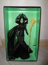 BARBIE THE WIZARD OF OZ FANTASY WICKED WITCH DOLL NRFB GOLD LABEL + SHIPPER