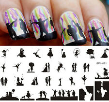BORN PRETTY Scetch Pattern Nail Art Stamping Template Image Plate BP-L021
