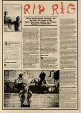 12/6/82PGN12 ARTICLE & PICTURES : RIP RAG & PANIC