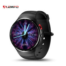 LEMFO Bluetooth LES1 3G SIM GPS WiFi Smart Watch Phone For Samsung iOS LG iphone
