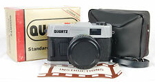 NEW IN BOX QUARTZ 35mm FILM CAMERA 50mm F/6 GLASS LENS! PLASTIC/TOY/LOMO CASE!