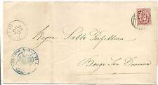 P8357   Parma, Noceto, annullo numerale a sbarre, 1885