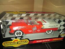 1955 belair convertible pace car indy 500 may 30 1955 1:18 ertl american muscle