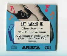 Ray Parker Jr. SEALED 3-INCH-cd-single GHOSTBUSTERS © 1988 USA Arista CD-3-3020