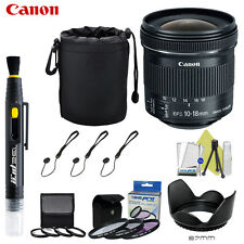 Canon EF-S 10-18mm f/4.5-5.6 IS STM Lens For Canon Rebel T5i T5 T6i T3i T3 T4i