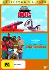 THE SHAGGY DOG+COOL RUNNINGS=NEW DVD=2 Disc Set=R4