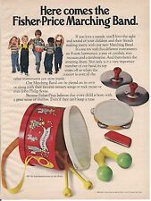 Vintage Fisher Price Marching Band Toys Ad 1980