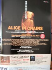 CLIPPING  JAPAN ALICE IN CHAINS