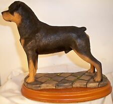 Dog Figurine ROTTWEILER Bollingate BOB UK 1988 Standing Base GORGEOUS VERY RARE!