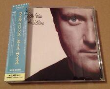 Phil Collins - Both Sides Rare Japanese Cd Album OBI Strip +Lyric Sheet Genesis