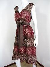 TAIFUN SLEEVELESS DRESS SIZE 16, MULTICOLORED