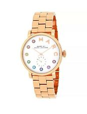 NEW Marc by Marc Jacobs MBM3441 Baker Rose Gold Stainless Steel Women's Watch