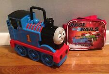 Thomas The Tank Engine Take Along & Play Carrying Case Plus Lunch Box!