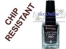 RIMMEL LONDON LASTING FINISH PRO LONG LASTING NAIL POLISH VARNISH #400 LAVA RED