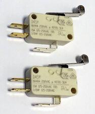 2x Mikroschalter D45Y von CHERRY, Wechsler, 16A, 250VAC NEU!