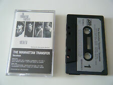 THE MANHATTAN TRANSFER VOCALESE CASSETTE TAPE 1985 PAPER LABEL ATLANTIC