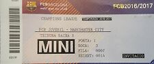 TICKET UEFA YL 2016/17 FC Barcelona - Manchester City