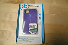 Speck CandyShell Cell Phone Case For iPhone 4/4S Grape Very Good 2E