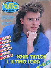 TUTTO 5 1986 John Taylor Cock Robin Culture Club Whitney Houston Rolling Stones