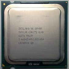 Intel Core 2 Quad Q8400 Yorkfield Quad-Core 4x 2.66 GHz LGA 775 95W SLGT6