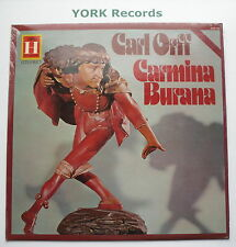 2548 194 - ORFF - Carmina Burana KEGEL Leipzig Radio SO - Ex Con LP Record