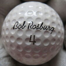 (1) BOB ROSBURG SIGNATURE LOGO GOLF BALL ( RAM MADE IN USA CIR 1967) #4