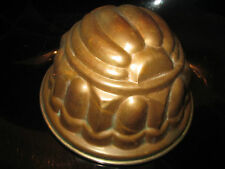 OLD BRASS COPPER JELLY MOULD