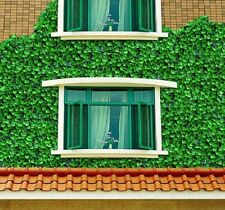 "Very Realistic Artificial Garden Screening Hedging ""Light Green Ivy"" 1 x 3m"