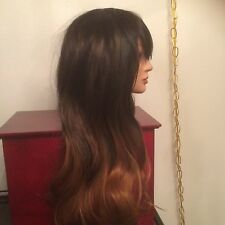 Women's Long  Synthetic OMBRE Full Wig