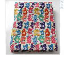 Care Bears Fabric Poly Cotton 1m x 1.45m