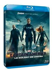 Captain America, le soldat de l'hiver Blu-Ray - Marvel - De Anthony NEUF