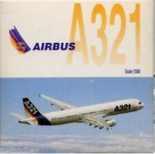 Herpa 508605 Airbus A321 Demo House Colors 1:500 Scale RETIRED 1997 Mint in Box