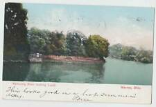 Mohoming River looking South Warren Ohio vintage postcard 5525