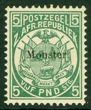 SG 187s £5 Deep Green Ovpt Monster. A fine unmounted mint example CAT £170