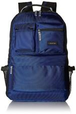 NEW CALVIN KLEIN SOHO PADDED LAPTOP NAVY BLUE FASHION BACKPACK LC980BB5