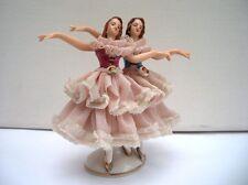 Porzellan-Figur, 2 Tänzerinnen, Dresden Art